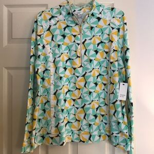 Crown and Ivy Beach Umbrella Popover NWT